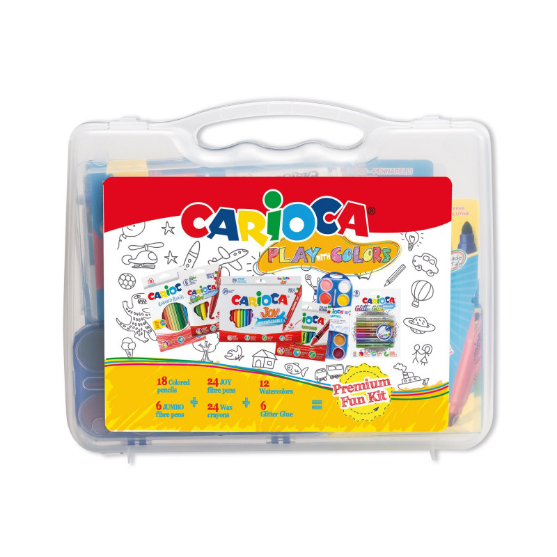 Valigetta PLAY WHIT COLOR 60 pezzi -