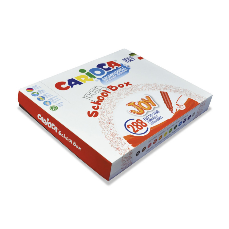JOY 288 pcs School Box