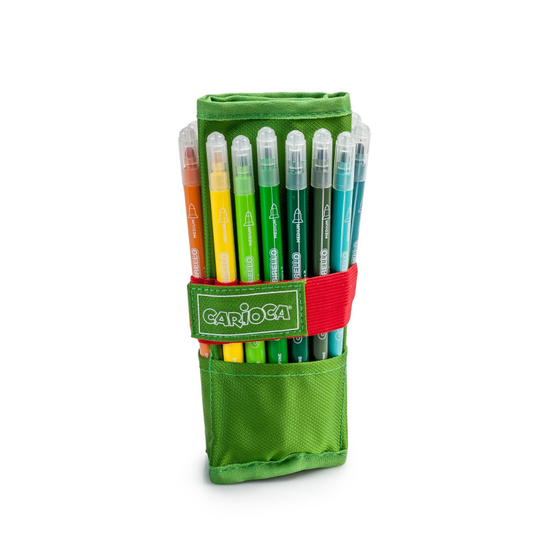Roller Pencil Case  Green