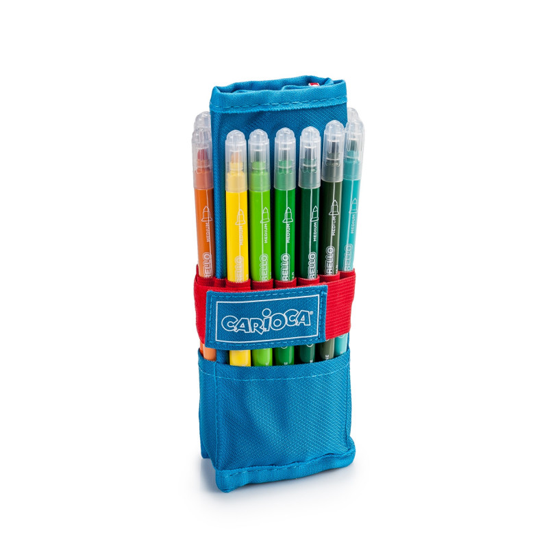 Roller Pencil Case  Blue