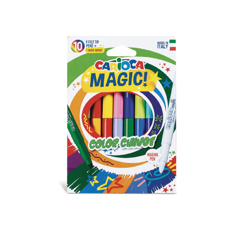 Magic Markers COLOR CHANGE...