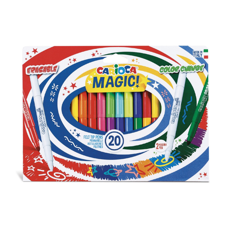 MAGIC MARKERS 20 Uds