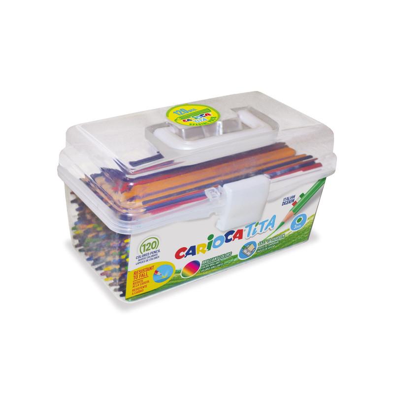 42800 - CARIOCA - Matite Colorate in Resina TITA 120 pz - Lápices - Pencils -  Crayons
