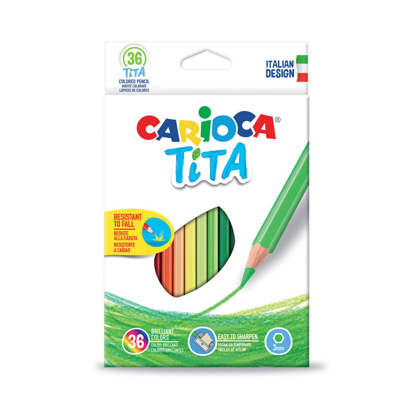TITA Colored Pencils 36 pcs
