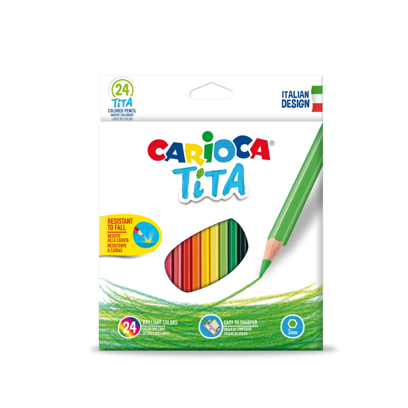 TITA Colored Pencils 24 pcs