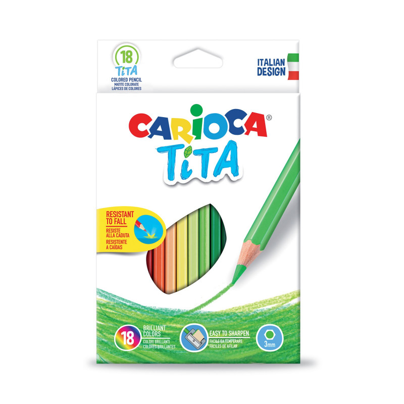 TITA Colored Pencils 18 pcs