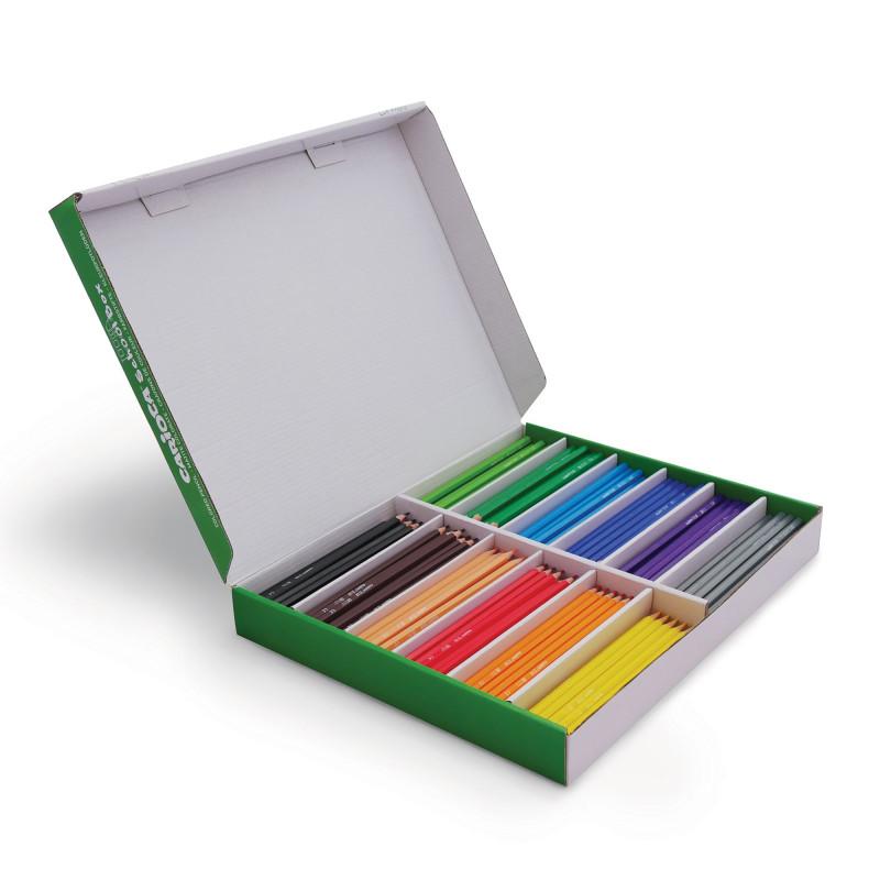 Matite Colorate in Resina TITA - 288 pz School Box