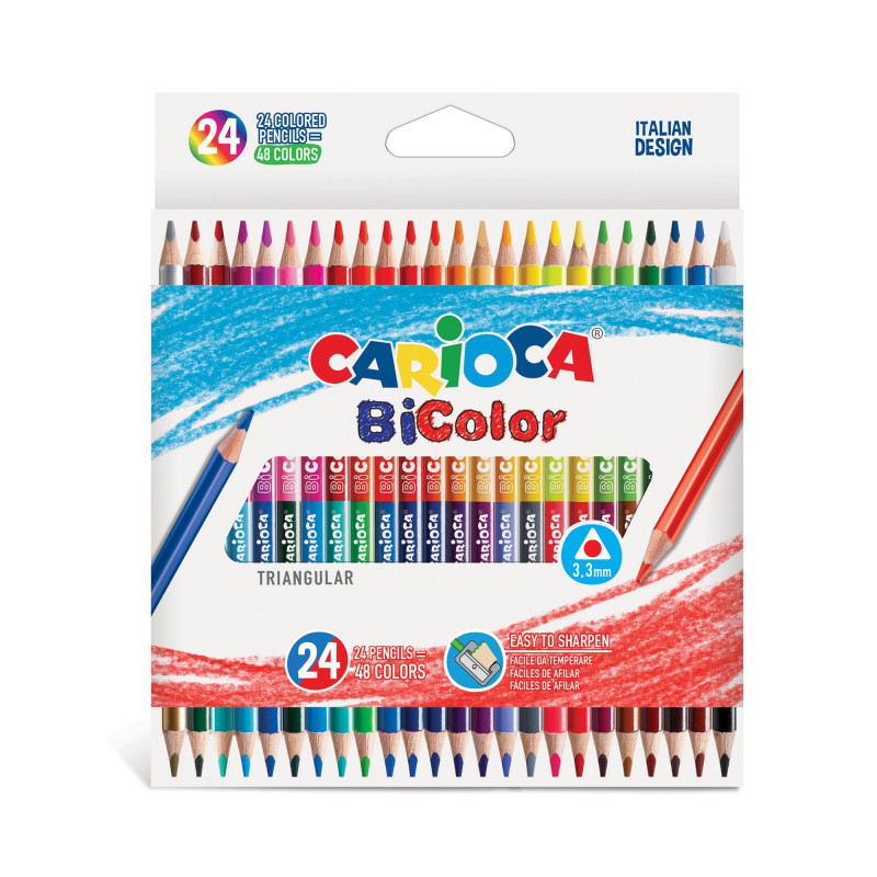 BI-COLOR TRANGULAR Pencils...