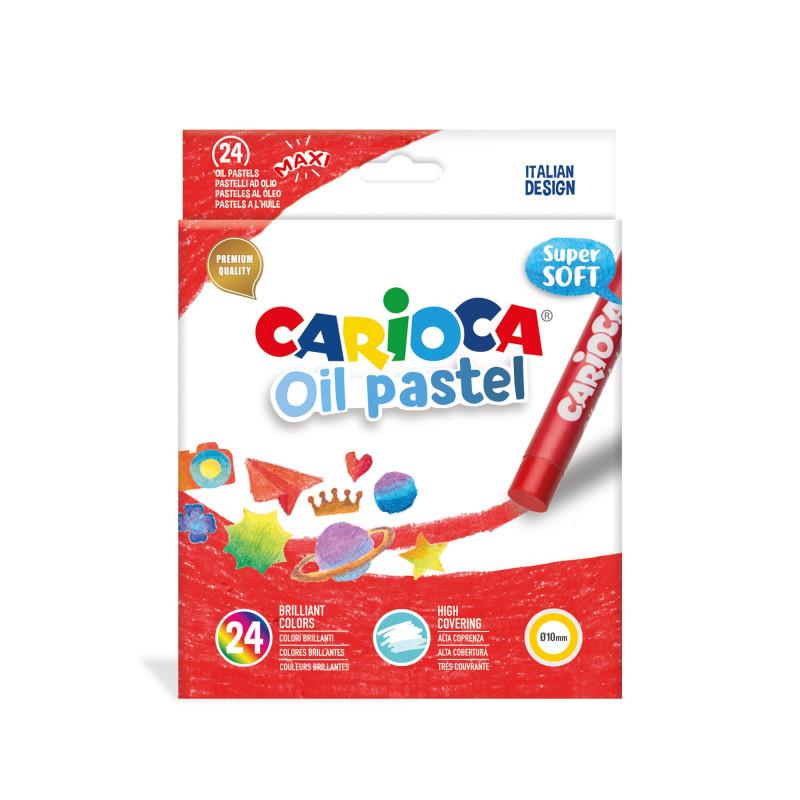 43278 - CARIOCA - Pastelli Olio 24 pz - Pasteles al Óleo -  Oil pastels - Pastels à L'Huile