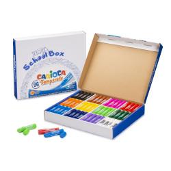 Tempera Solida in stick TEMPERELLO - 96 pz School Box