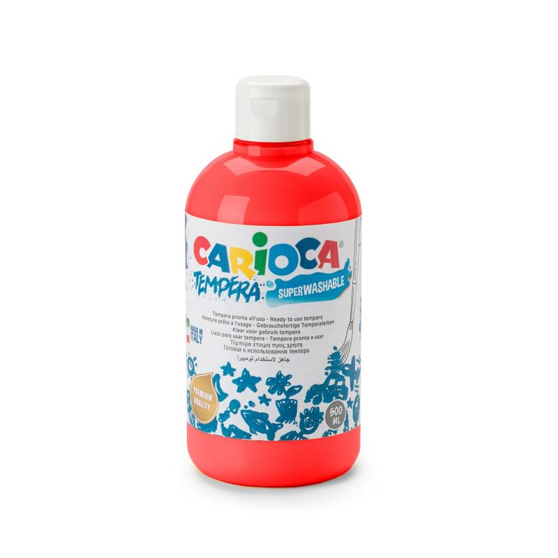 Tempera Pronta in bottiglia 500 ml Rosso - 1 pz