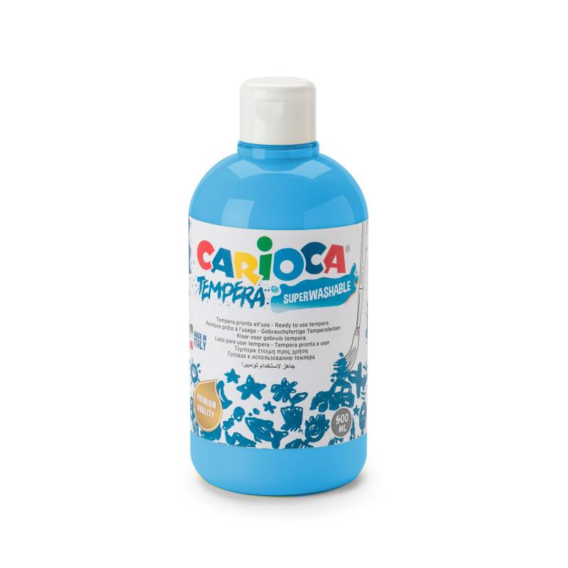 Tempera Pronta in bottiglia 500 ml Cyan - 1 pz