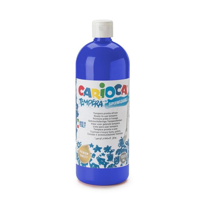Tempera Pronta in bottiglia 1000 ml Blu Scuro - 1 pz