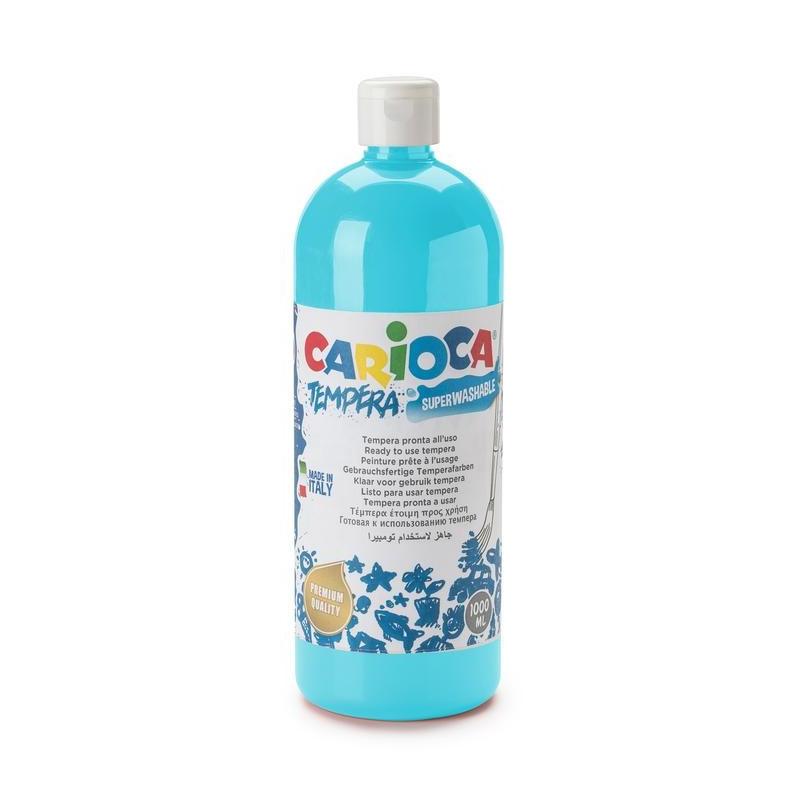 Tempera Pronta in bottiglia 1000 ml Azzurro - 1 pz