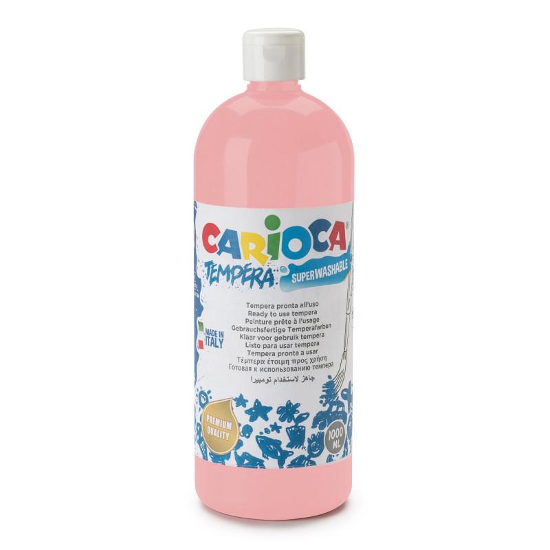 Tempera Pronta in bottiglia 1000 ml Rosa Carne - 1 pz