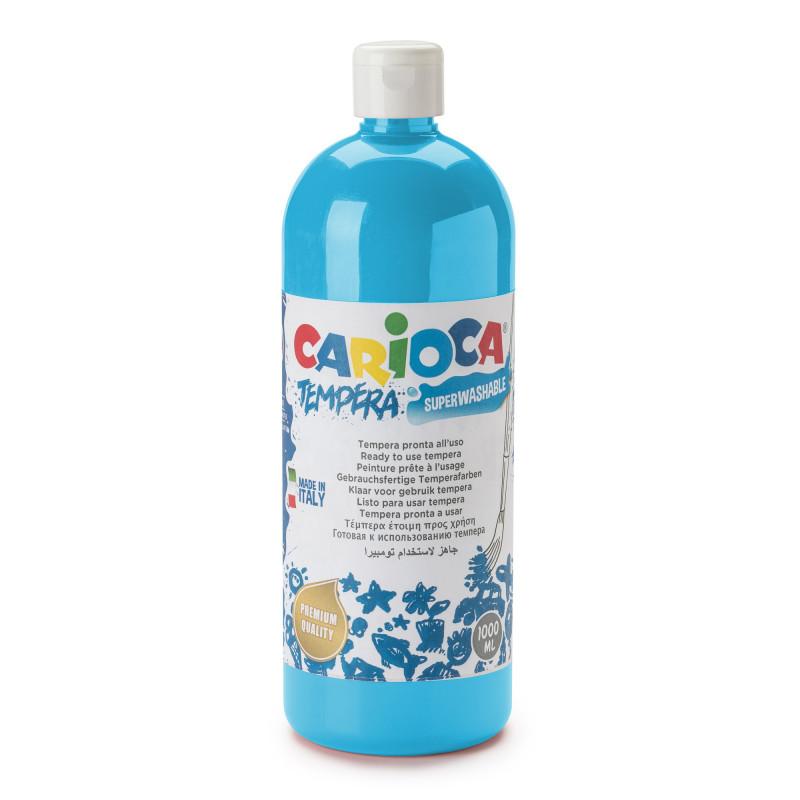 Tempera Pronta in bottiglia 1000 ml Cyan - 1 pz
