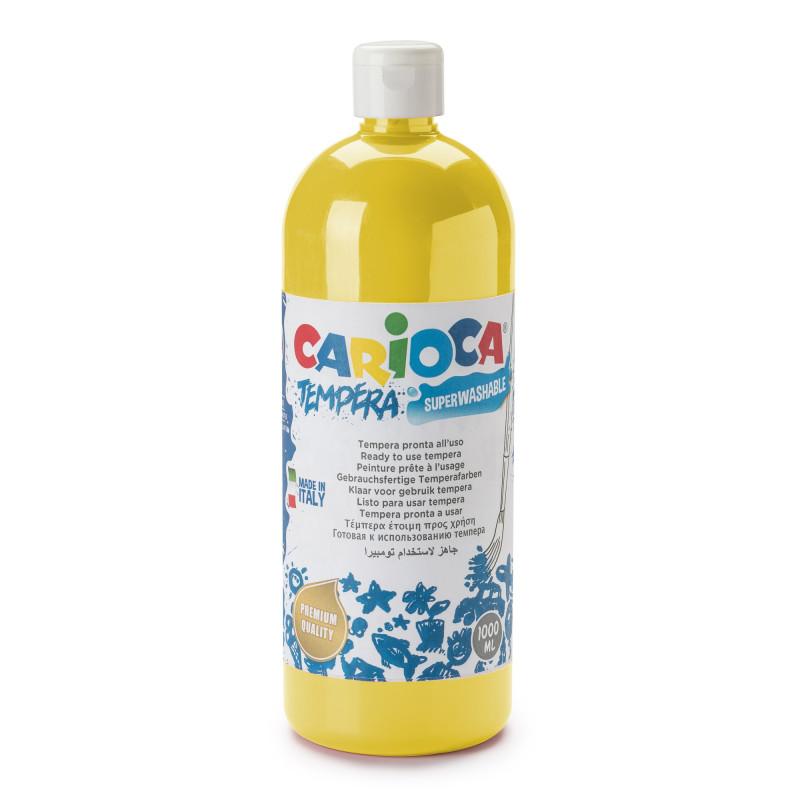 Tempera Pronta in bottiglia 1000 ml Giallo primario - 1 pz