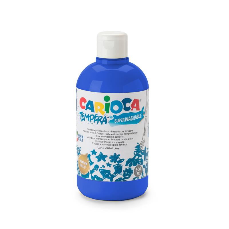 Tempera Pronta in bottiglia 500 ml Blu Scuro - 1 pz