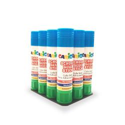 42935 - CARIOCA - Colla Stick 20 gr 12 pz - Pegamento de Barra - Glue Stick - Bâtons de Colle