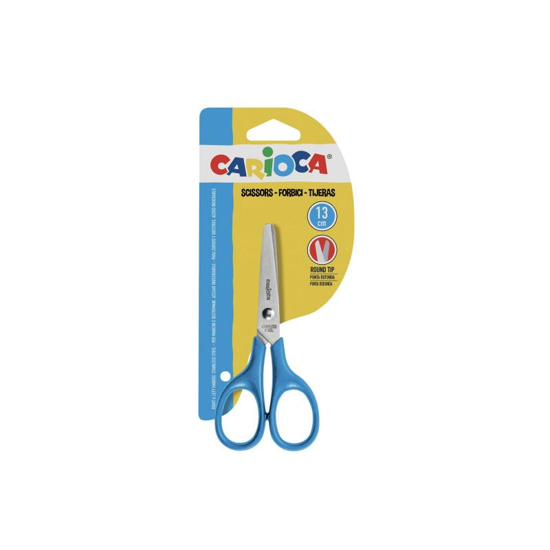 42634 - CARIOCA - Forbici Punta Arrotondata 13 cm 1 pz - Tijeras - Scissors - Ciseau