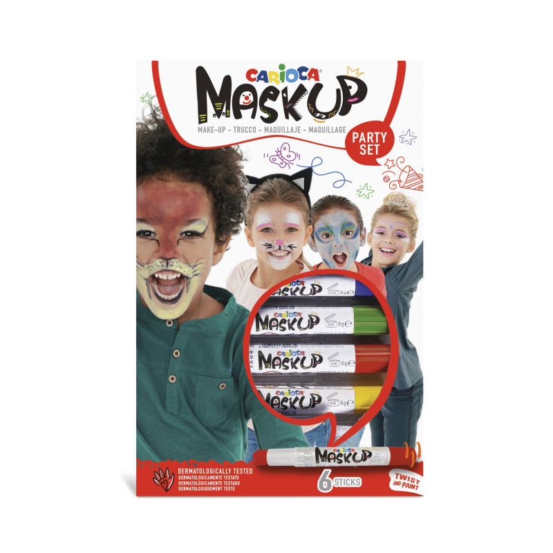 MASK UP PARTY 6 Uds