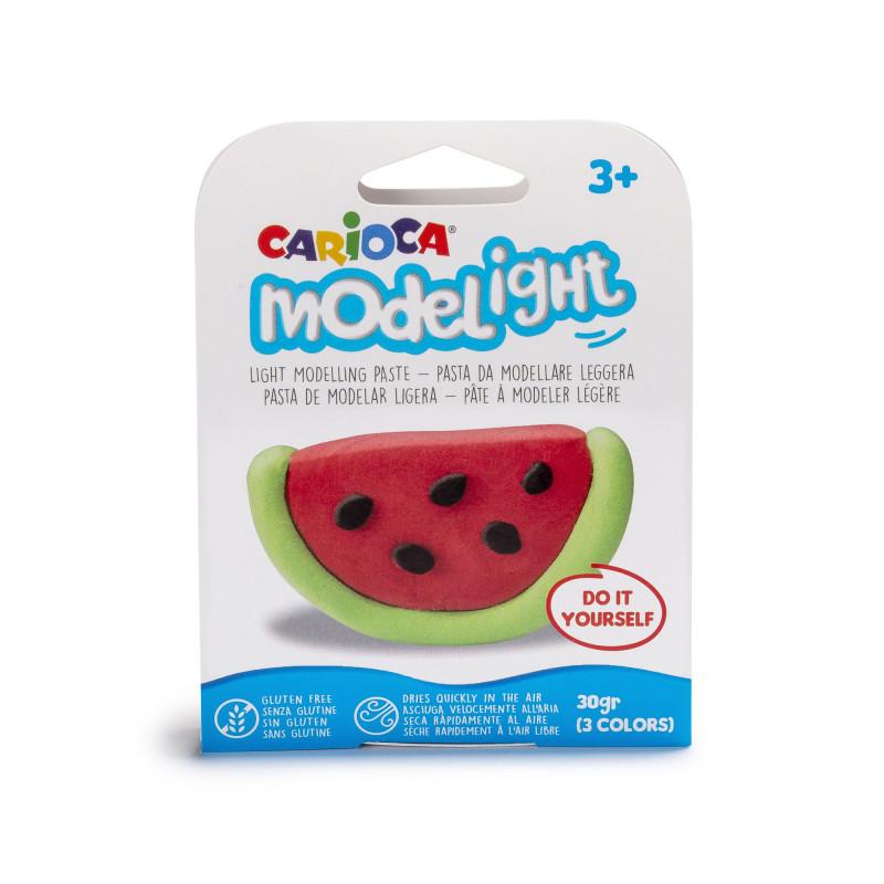 42687/WATERMELON - CARIOCA - Pasta da modellare - Pasta de Modelar - Modelling Paste - Pâte à Modeler