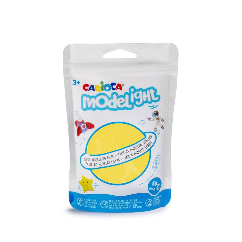 42686/05 - CARIOCA - Pasta da modellare Giallo - Pasta de Modelar - Modelling Paste - Pâte à Modeler