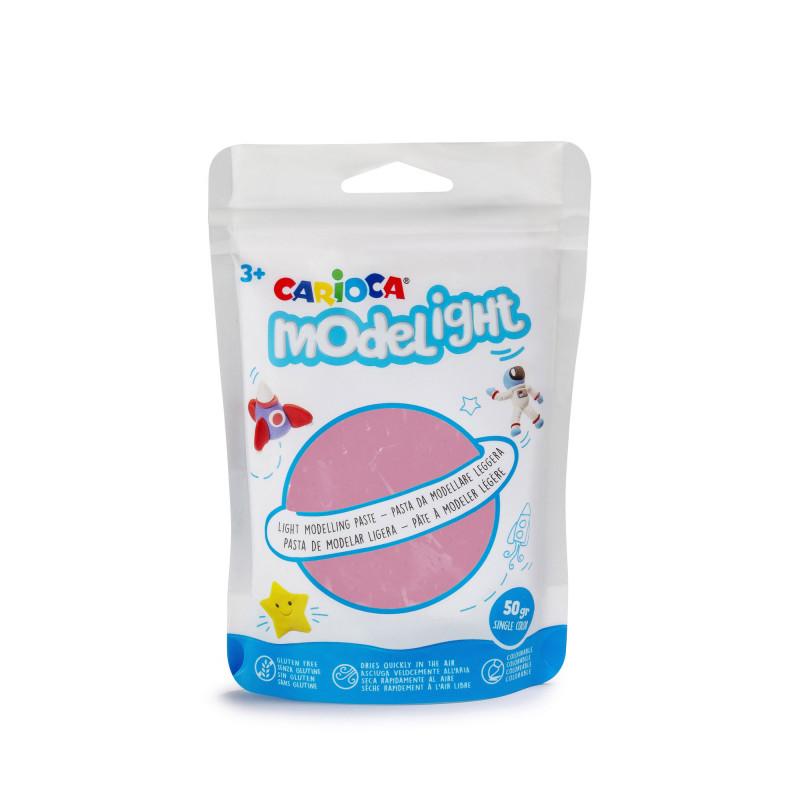42686/12 - CARIOCA - Pasta da modellare Rosa - Pasta de Modelar - Modelling Paste - Pâte à Modeler