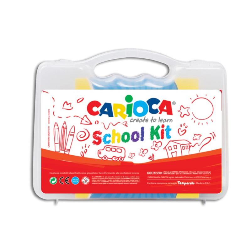42891/it - CARIOCA - Valigetta School Kit - Maletín School Kit - Suitcase School Kit - Valise School Kit