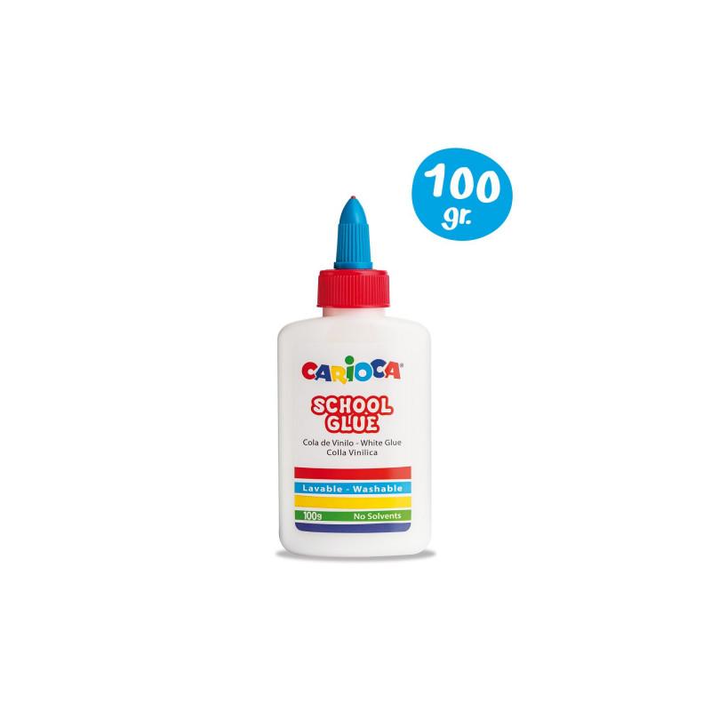 42768 - CARIOCA - Colla Vinilica 100 gr - Cola Blanca - White glue - Colle Vinilique