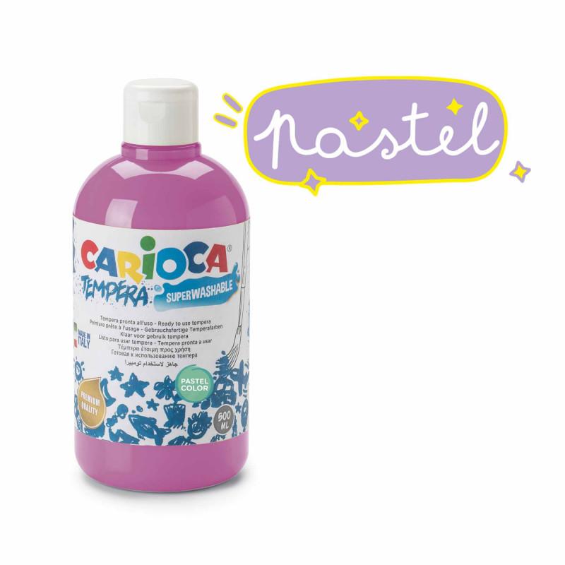 KO027/45 - CARIOCA - Tempera Azzurro Viola 500 ml - Témpera - Tempera - Detempre
