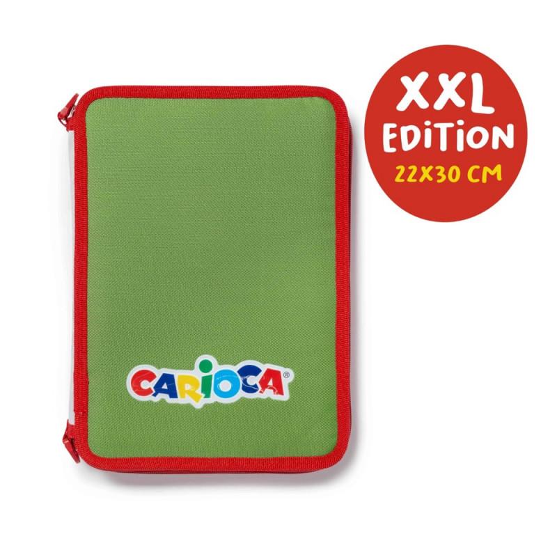 42849/30155 - CARIOCA - Astuccio XXL Premium - Estuche XXL Premium - Pencil Case XXL Premium - Trousse XXL Premium