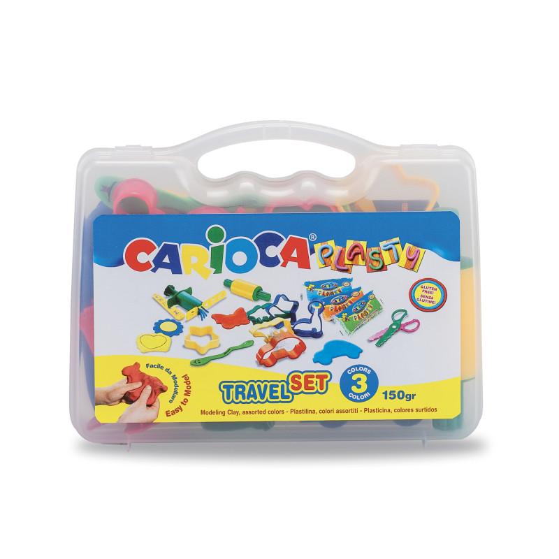 43245 - CARIOCA - Valigetta Plasty Set - Maletín Plasty Set - Suitcase Plasty Set - Valise Plasty Set