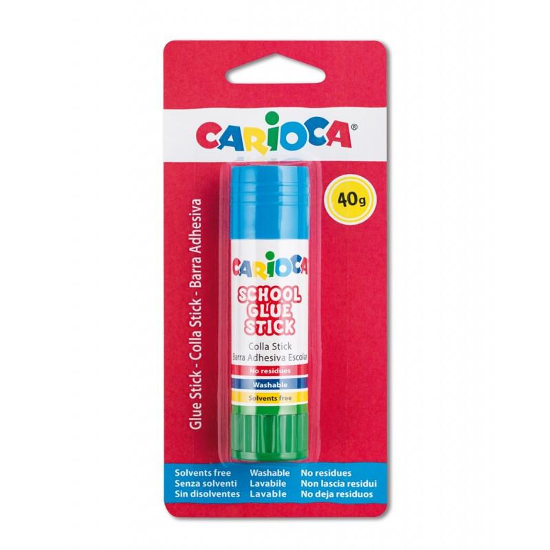 42933 - CARIOCA - Colla Stick 40 gr 1 pz - Pegamento de Barra - Glue Stick - Bâtons de Colle