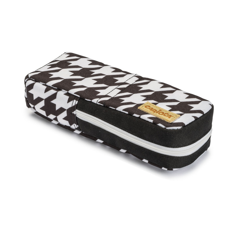 23285/PIEDPOULE - CARIOCA - Astuccio Groovi Pouch - Estuche Groovi Pouch - Pencil Case Groovi Pouch - Trousse Groovi Pouch