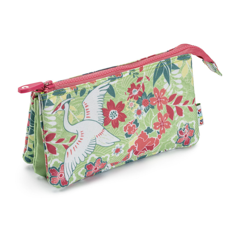 23284/ORIENTAL - CARIOCA - Astuccio Multi-Tasche - Estuche Multi-Espacio - Multi-Pocket Pencil Case - Trousse Multi-Poches