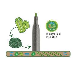 43100 - CARIOCA - Pennarelli Eco Family Punta Fine - Rotuladores Eco Family - Felt Tip Pens Eco Family - Feutres Eco Family