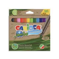 43101 - CARIOCA - Pennarelli Eco Family Punta Maxi - Rotuladores Eco Family - Felt Tip Pens Eco Family - Feutres Eco Family