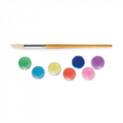 42400 - CARIOCA - Acquerelli 12 colori con pennello - Acuarelas - Watercolors - Aquarelles