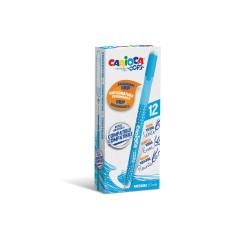 43039/10 - CARIOCA - Penna Cancellabile OOPS azzurro - Bolígrafo Borrable - Erasable Pen - Stylo Effaçable
