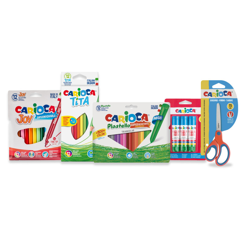 53217 - CARIOCA - Set Easy School - 40 Pz