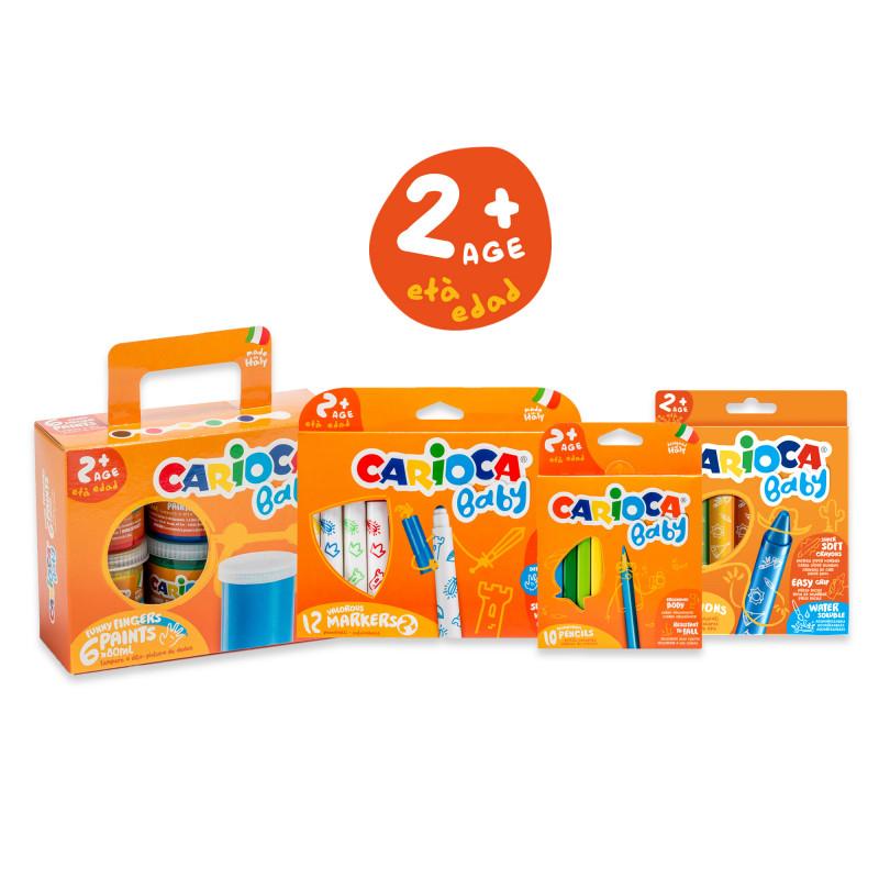 53222 - CARIOCA - Set BABY +2 - 36 Pz