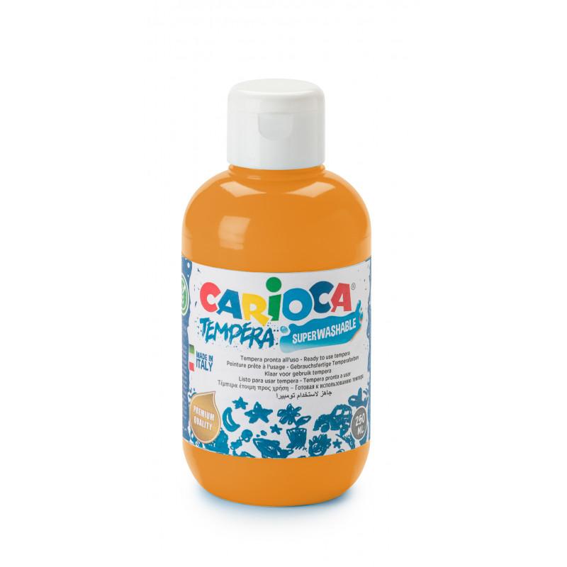 KO027/11 - CARIOCA - Tempera 500 ml Arancione - Témpera - Tempera - Detempre