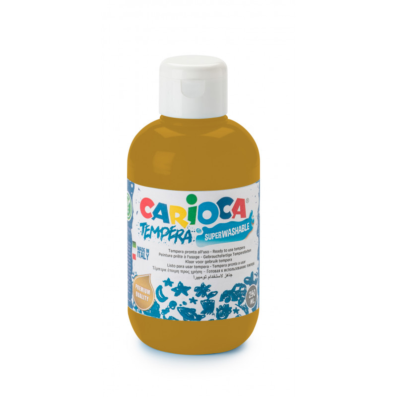 KO027/19 - CARIOCA - Tempera 500 ml Oro - Témpera - Tempera - Detempre