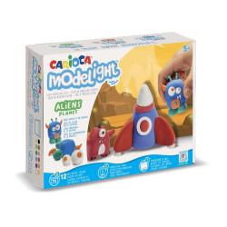 43152 - CARIOCA - Modelight Maxi Scatola Gioco Aliens - Modelight Maxi Play Box Aliens - Modelight Maxi Caja Juego Aliens