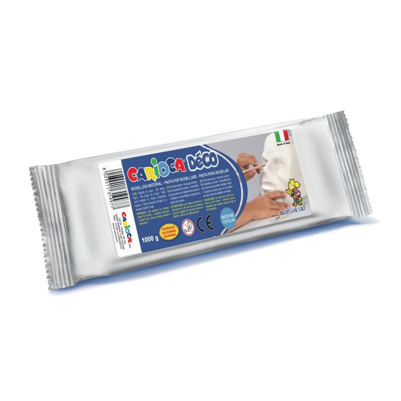 30997/31Pasta per Modellare Bianca DÉCO 1 kg - Pasta De Modelar - Modelling Dought - Argile à Modeler