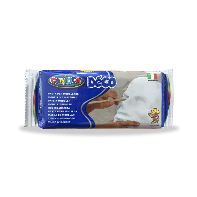 30996/31 Pasta per Modellare Bianca DÉCO 500 g - Pasta De Modelar - Modelling Dought - Argile à Modeler