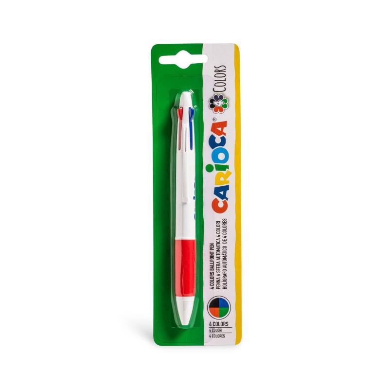 Penna a Sfera 4 Colori - 1 pz