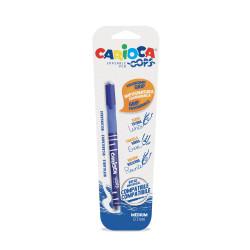 43036/02 - CARIOCA - Penna Cancellabile OOPS blu - Bolígrafo Borrable - Erasable Pen - Stylo Effaçable