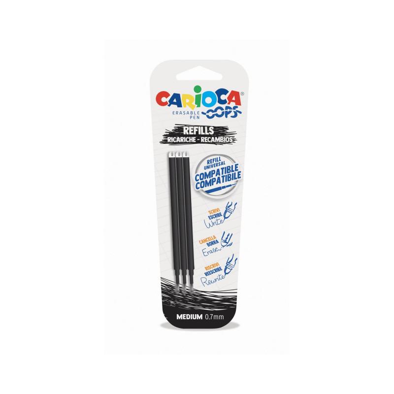 43041/01 - CARIOCA - Ricariche penna Oops - Recambios bolígrafo Oops - Refill Oops Pen - Recharge Stylo Ooops